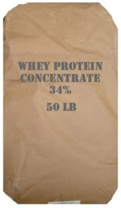 Bag of Whey Protein