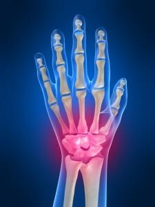 pain in wrist P90X