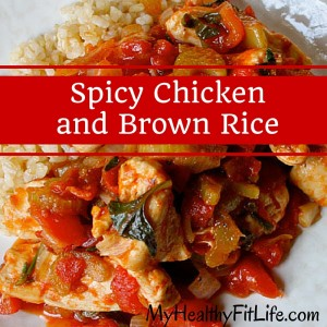 Spicy Chicken and Brown Rice